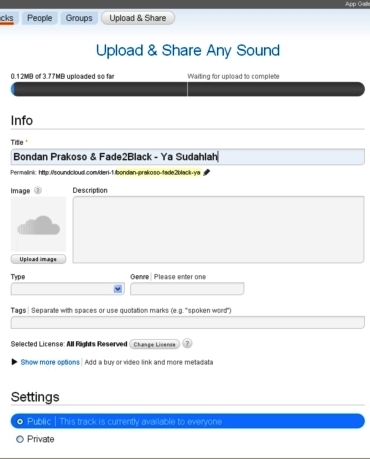 Menambahkan musik di blogWordPress.com
