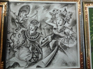 Lukisan bali klasikk