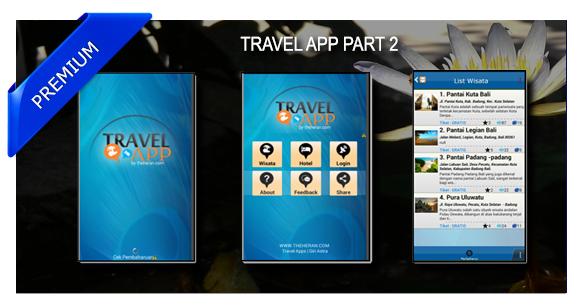 Tutorial Membuat Aplikasi Wisata Part2