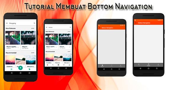 Tutorial Android Membuat BottomNavigation